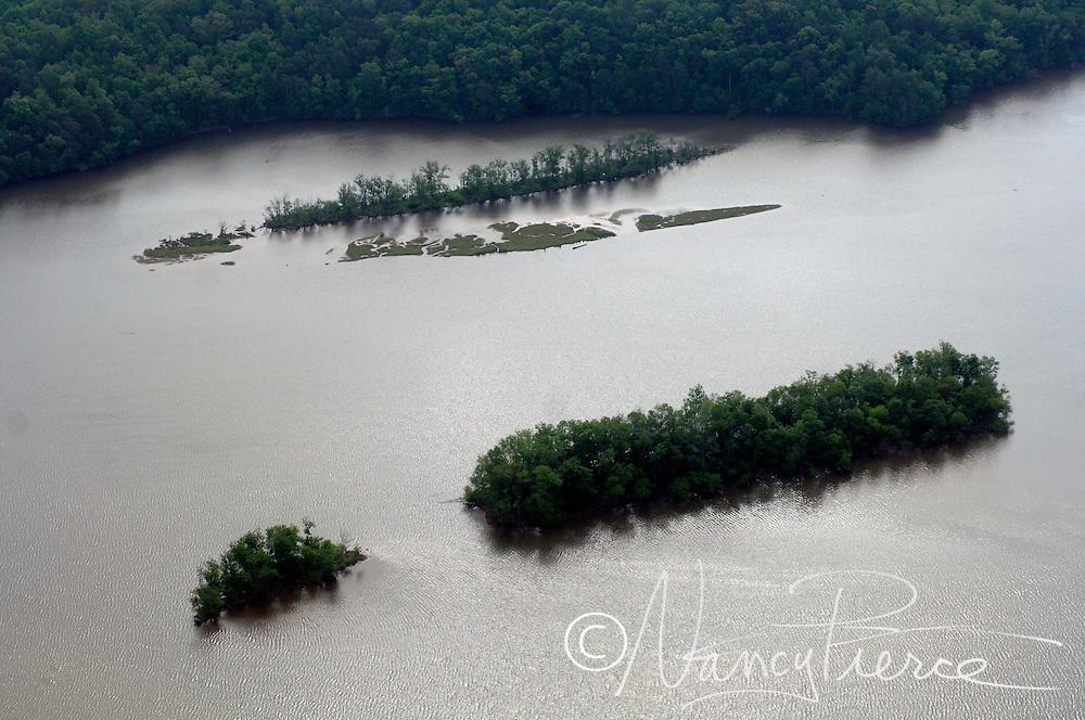 Aerials of Cedar Creek Reservoir (colloquial: Stumpy Pond) near Great Falls, SC. This is between Duke Eneregy's diversion  dam below Hwy 200 and the Cedar Creek Dam.