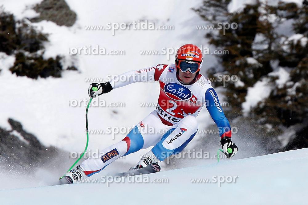 19.01.2013, Lauberhornabfahrt, Wengen, SUI, FIS Weltcup Ski Alpin, Abfahrt, Herren, im Bild Patrick Kueng (SUI) // during mens downhillrace of FIS Ski Alpine World Cup at the Lauberhorn downhill course, Wengen, Switzerland on 2013/01/19. EXPA Pictures © 2013, PhotoCredit: EXPA/ Freshfocus/ Christian Pfander..***** ATTENTION - for AUT, SLO, CRO, SRB, BIH only *****