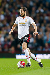 Daley Blind of Manchester United in action - Mandatory byline: Rogan Thomson/JMP - 07966 386802 - 14/08/2015 - FOOTBALL - Villa Park Stadium - Birmingham, England - Aston Villa v Manchester United - Barclays Premier League.