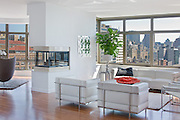 A Manhattan apartment owned by actresses Mary-Kate and Ashley Olsen.