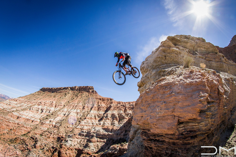 Cam Zink during the Red Bull Rampage 2016