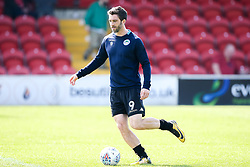 Will Grigg of Wigan Athletic - Mandatory by-line: Robbie Stephenson/JMP - 21/04/2018 - FOOTBALL - Highbury Stadium - Fleetwood, England - Fleetwood Town v Wigan Athletic - Sky Bet League One