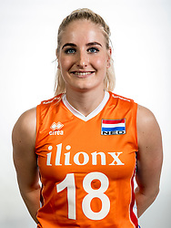 22-05-2017 NED: Nederlands volleybalteam vrouwen, Utrecht<br /> Photoshoot met Oranje vrouwen seizoen 2017 / Marrit Jasper