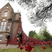 Poppies At Black Watch Castle
