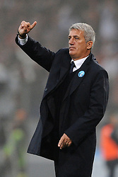 11.11.2012, Olympiastadion, Rom, ITA, Serie A, Lazio Rom vs AS Rom, 12. Runde, im Bild Vladimir Petkovic, allenatore della Lazio // during the Italian Serie A 12th round match between SS Lazio and AS Roma at the Olympic Stadium, Rome, Italy on 2012/11/11. EXPA Pictures © 2012, PhotoCredit: EXPA/ Insidefoto/ Antonietta Baldassarre..***** ATTENTION - for AUT, SLO, CRO, SRB, SUI and SWE only *****