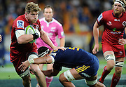 Adam Thomson in action for the Reds. Investec Super Rugby - Highlanders v Reds 27 February 2015, Forsyth Barr Stadium, Dunedin, New Zealand. Photo: New Zealand. Photo: Richard Hood/www.photosport.co.nz