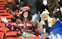Rugby fans enjoying the atmosphere at Ashton Gate Stadium - Mandatory by-line: Paul Knight/JMP - 22/12/2017 - RUGBY - Ashton Gate Stadium - Bristol, England - Bristol Rugby v Cornish Pirates - Greene King IPA Championship