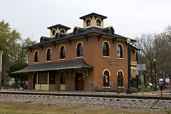 October 2009:  old railroad depot Galena Illinois. Sights to see in and around Galena Illinois.