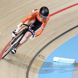 17-12-2016: Wielrennen: NK baanwielrennen: Apeldoorn       <br /> APELDOORN (NED) wielrennen   <br /> Lauriene van Riessen in de kwalificatie 200 meter