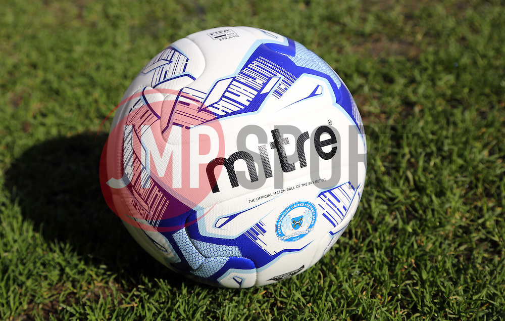 A general view of a Peterborough United branded EFL mitre match ball - Mandatory by-line: Joe Dent/JMP - 04/03/2017 - FOOTBALL - Coral Windows Stadium - Bradford, England - Bradford City v Peterborough United - Sky Bet League One