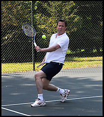 File Photo - Tennis match with Cameron auctioned off for £160,000