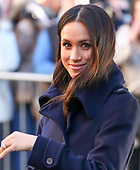 Prince Harry and Meghan Markle first official appearance  Nottingham