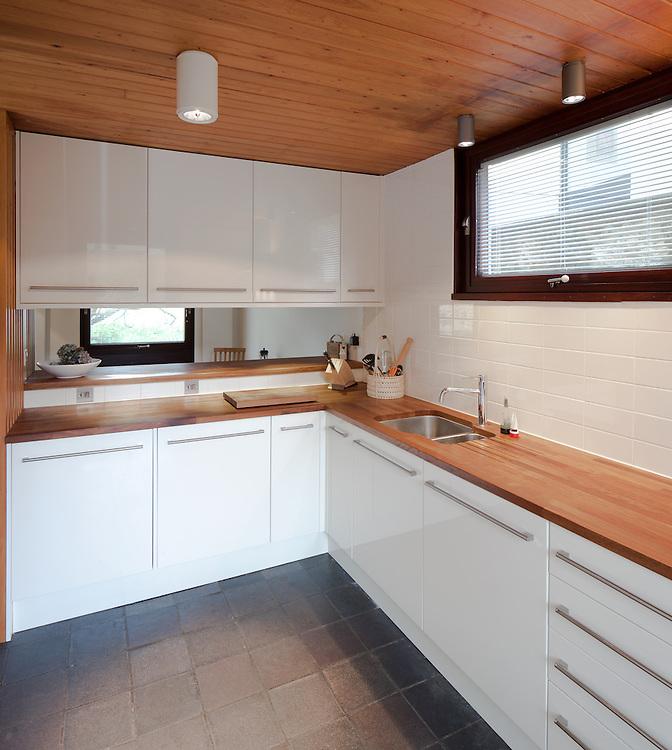 residential, design, 1960s architecture, building, concrete, brutalist, oxford, england, uk, blackhall road, st. johns college