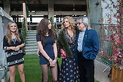 SARAH HODSALL; ISLA HODSALL; MATILDA WYMAN; SUZANNE WYMAN; BILL WYMAN, Gabrielle's Gala 2013 in aid of  Gabrielle's Angels Foundation UK , Battersea Power station. London. 2 May 2013.