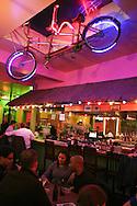 The bar at Banana Cafe, a Capitol Hill watering hole.