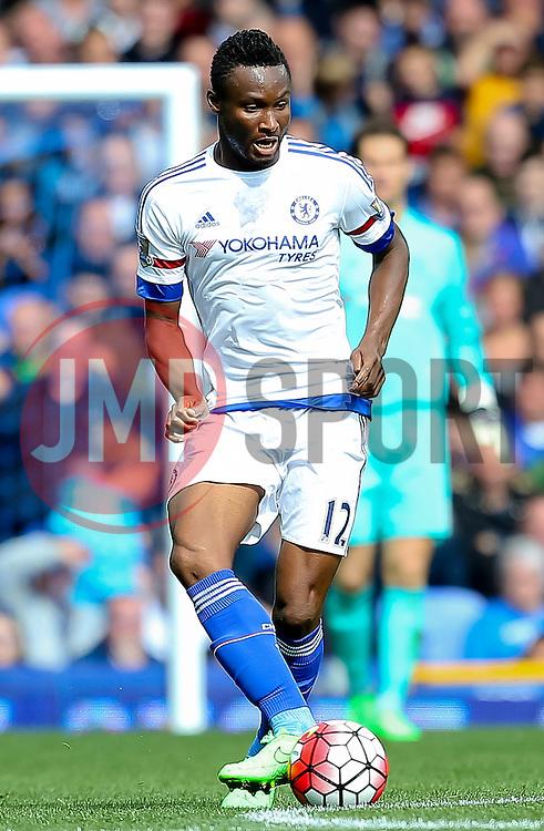 John Obi Mikel of Chelsea - Mandatory byline: Matt McNulty/JMP - 07966386802 - 12/09/2015 - FOOTBALL - Goodison Park -Everton,England - Everton v Chelsea - Barclays Premier League