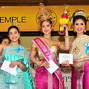 London, UK. 14th April, 2019. Winner of Miss Songkran London 2019 - Celebrates Thai New Year (Songkran) at Buddhapadipa Temple in Wimbledon known as Songkran Water Festival, London, UK.