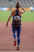 Kara Winger (USA), Javelin Women - Qualification, Group B, during the 2019 IAAF World Athletics Championships at Khalifa International Stadium, Doha, Qatar on 30 September 2019.