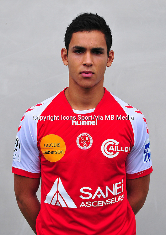 Aissa MANDI - 03.10.2013 - Photo officielle Reims - Ligue 1<br /> Photo : Philippe Le Brech / Icon Sport