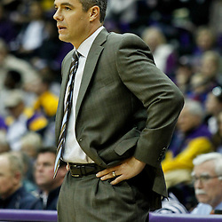 January 2, 2012; Baton Rouge, LA; Virginia Cavaliers head coach Tony Bennett during the first half of a game against the LSU Tigers at the Pete Maravich Assembly Center.  Mandatory Credit: Derick E. Hingle-US PRESSWIRE