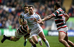 Juan Imhoff of Racing 92 runs with the ball - Mandatory by-line: Robbie Stephenson/JMP - 23/10/2016 - RUGBY - Welford Road Stadium - Leicester, England - Leicester Tigers v Racing 92 - European Champions Cup