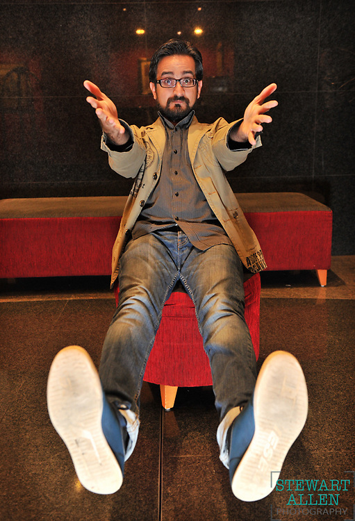 17/05/2013 NEWS: NEWS Pakistani comedian Sami Shah will be on Australian Story Story Linda Parri Photo Stewart Allen