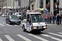 police tricycle in New York October 2008