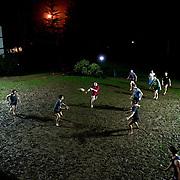 Students play rugby at Shawnigan Lake School in Shawnigan Lake, B.C., on Feb. 18, 2016.