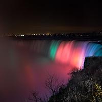 Niagara Falls Seen From Ontario, Canada