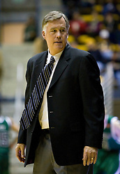 December 28, 2009; Berkeley, CA, USA;  California Golden Bears head coach Mike Montgomery during the second half against the Utah Valley Wolverines  at the Haas Pavilion.  California defeated Utah Valley 85-51.