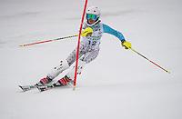 Lafoley Slalom with Gunstock Ski Club. <br /> ©2017 Karen Bobotas Photographer