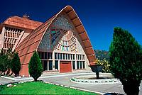 Igreja Matriz de Urubici. Urubici, Santa Catarina, Brasil. / Urubici Mother Church. Urubici, Santa Catarina, Brazil.