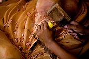 Prados_MG, Brasil...Artesanato em madeira em Carandai, Minas Gerais...The wooden crafts in Carandai, Minas Gerais. ..Foto: JOAO MARCOS ROSA / NITRO