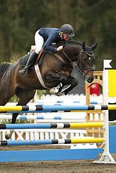 Andersson, Elin, Capo 21<br /> Bad Schwartau - Springturnier <br /> Springpferde Kl. L für 6j Pferde<br /> © www.sportfotos-lafrentz.de/Yvonne Kardel