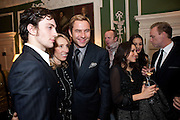Aaron Johnson; Sam Taylor Wood; David Walliams; Lauren Kemp; Gary Kemp , QUINTESSENTIALLY HOST THE  AFTER-PARTY OF ÔNOWHERE BOYÕÕ  at The House of St Barnabas in Soho Sq. London. 26 November 2009. The premiere and party were held in support of MaggieÕs cancer care charity.<br /> Aaron Johnson; Sam Taylor Wood; David Walliams; Lauren Kemp; Gary Kemp , QUINTESSENTIALLY HOST THE  AFTER-PARTY OF 'NOWHERE BOY''  at The House of St Barnabas in Soho Sq. London. 26 November 2009. The premiere and party were held in support of Maggie's cancer care charity.