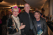 SUE POLLARD; LEE DEAN; ( PRODUCER ) JOHN ADDY, BULLY BOY by Sandi Toksvig, St. James Theatre, 12 Palace Street, London. 19 September 2012