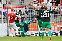 Rens van Eijden of AZ Alkmaar, Tonny Vilhena of Feyenoord, Marco Bizot of AZ Alkmaar, Jean Paul Boetius of Feyenoord, Jens Toornstra of Feyenoord