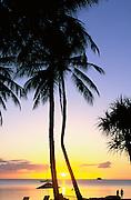 Sunset, Palau, Micronesia<br />