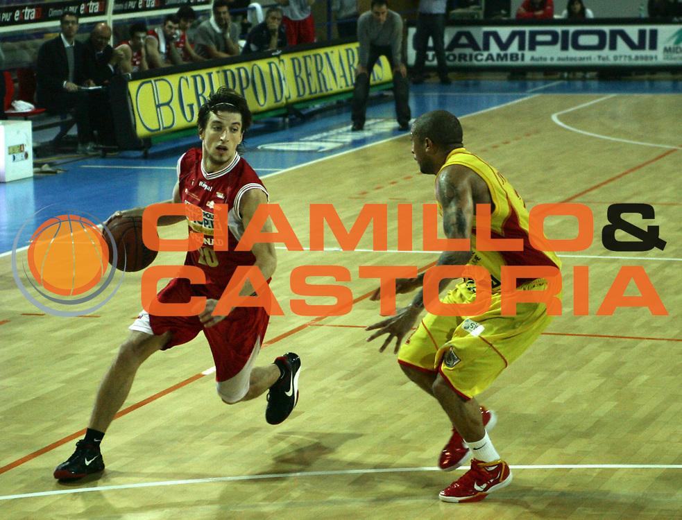 DESCRIZIONE : Frosinone Campionato LegaDue Basket 2010-11 Prima Veroli MarcoPoloShop.it Forl&igrave; <br /> GIOCATORE : Andres Pablo Forray<br /> SQUADRA : MarcoPoloShop.it Forl&igrave;<br /> EVENTO : Campionato LegaDue Basket  2010-2011<br /> GARA : Prima Veroli - MarcoPoloShop.it Forl&igrave;<br /> DATA : 07/11/2010<br /> CATEGORIA : Palleggio Penetrazione<br /> SPORT : Pallacanestro <br /> AUTORE : Agenzia Ciamillo-Castoria/A.Ciucci<br /> Fotonotizia : Frosinone Campionato LegaDue Basket 2010-11 Prima Veroli MarcoPoloShop.it Forl&igrave;<br /> Predefinita :