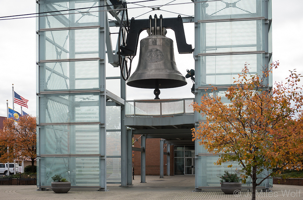 Freedom Bell in Newport Kentucky