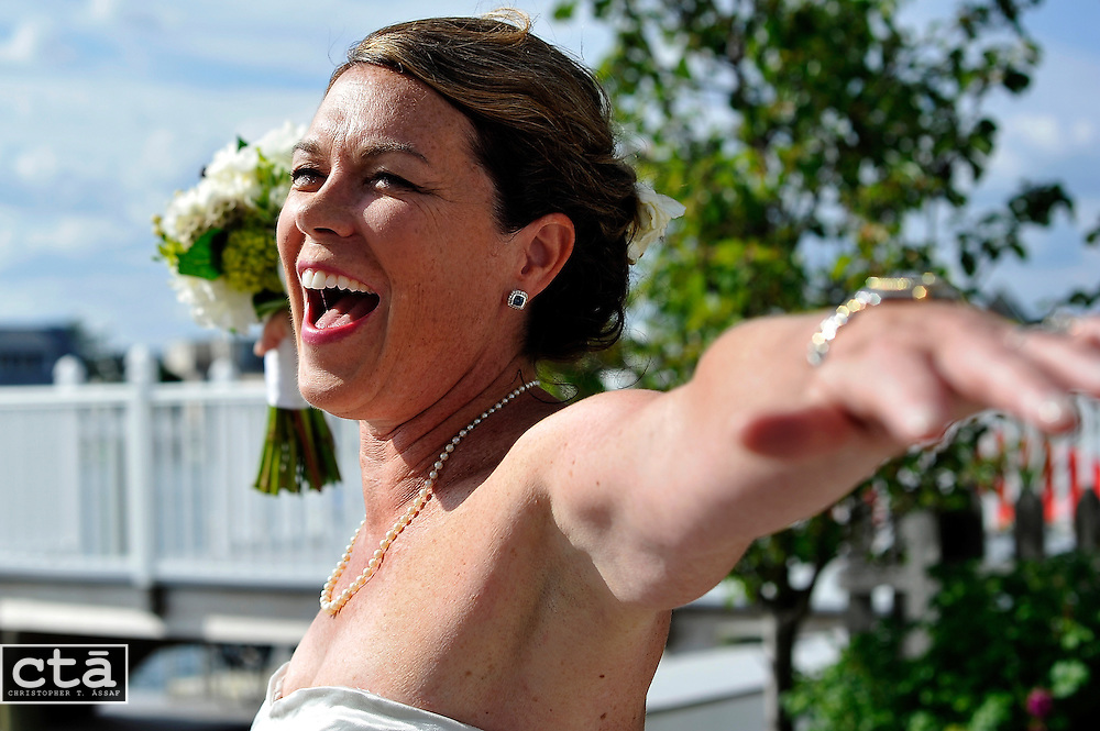 The wedding of Karen Cubbison and Craig Socie. Married June 2, 2012 in Stone Harbor, N.J. (Photo by Christopher T. Assaf/all rights reserved) #9853..©2012