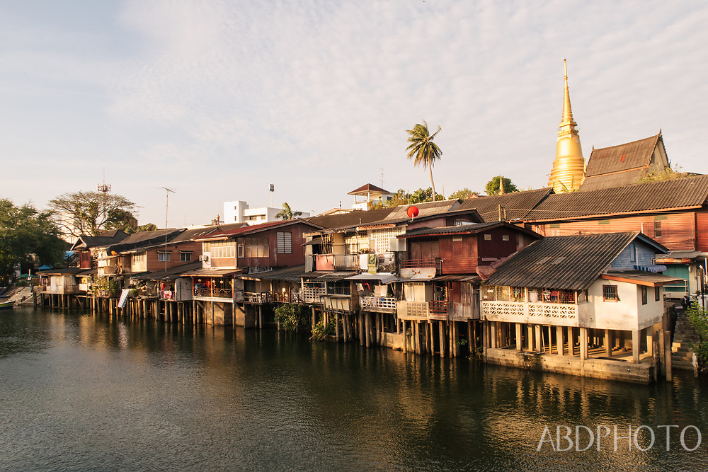Chanthaburi old town & river & Cathedral of the Immaculate Conception