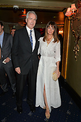 JEREMY KING and LAUREN GURVICH at The Hoping Foundation's 'Starry Starry Night' Benefit Evening For Palestinian Refugee Children held at The Cafe de Paris, Coventry Street, London on 19th June 2014.