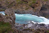 Islande, cascade de Godafoss // Iceland, Godafoss waterfall