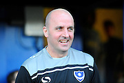 Portsmouth manager Paul Cook during the The FA Cup fourth round match between Portsmouth and Bournemouth at Fratton Park, Portsmouth, England on 30 January 2016. Photo by Graham Hunt.