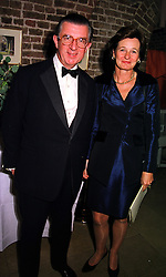 MR & MRS GEORGE MAGAN he is the multi millionaire City figure, at a gala evening in London on 6th October 1999.MXH 19