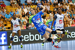 Ana Gros of Slovenia during handball match between National Teams of Slovenia and France in Qualification of 2015 Women's European Championship, on June 13th, in Rdeca Dvorana, Velenje. Photo by Morgan Kristan / Sportida