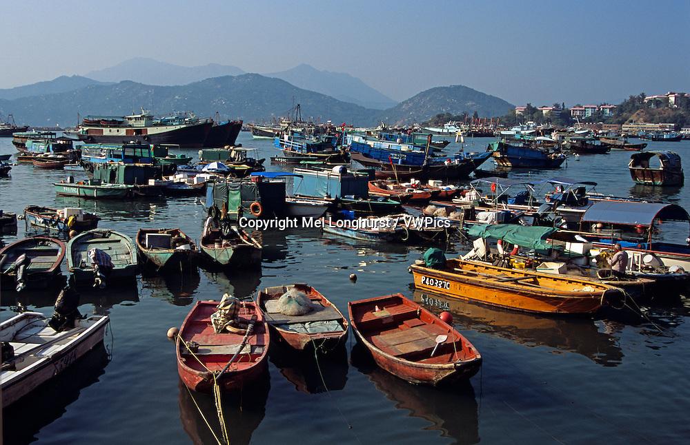 Harbour, Cheung Chau Island, Hong Kong, China