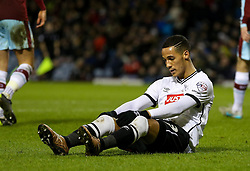 Tom Ince of Derby County looks dejected - Mandatory byline: Matt McNulty/JMP - 25/01/2016 - FOOTBALL - Turf Moor - Burnley, England - Burnley v Derby County - Sky Bet Championship