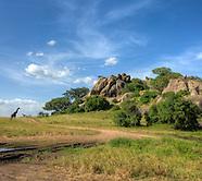 Tanzanian landscapes